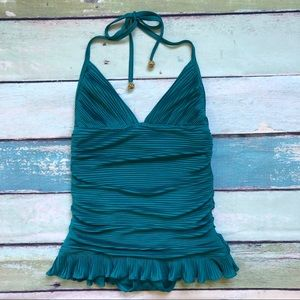 Juicy Coutoure Beach Royalty Teal One Piece Sz S